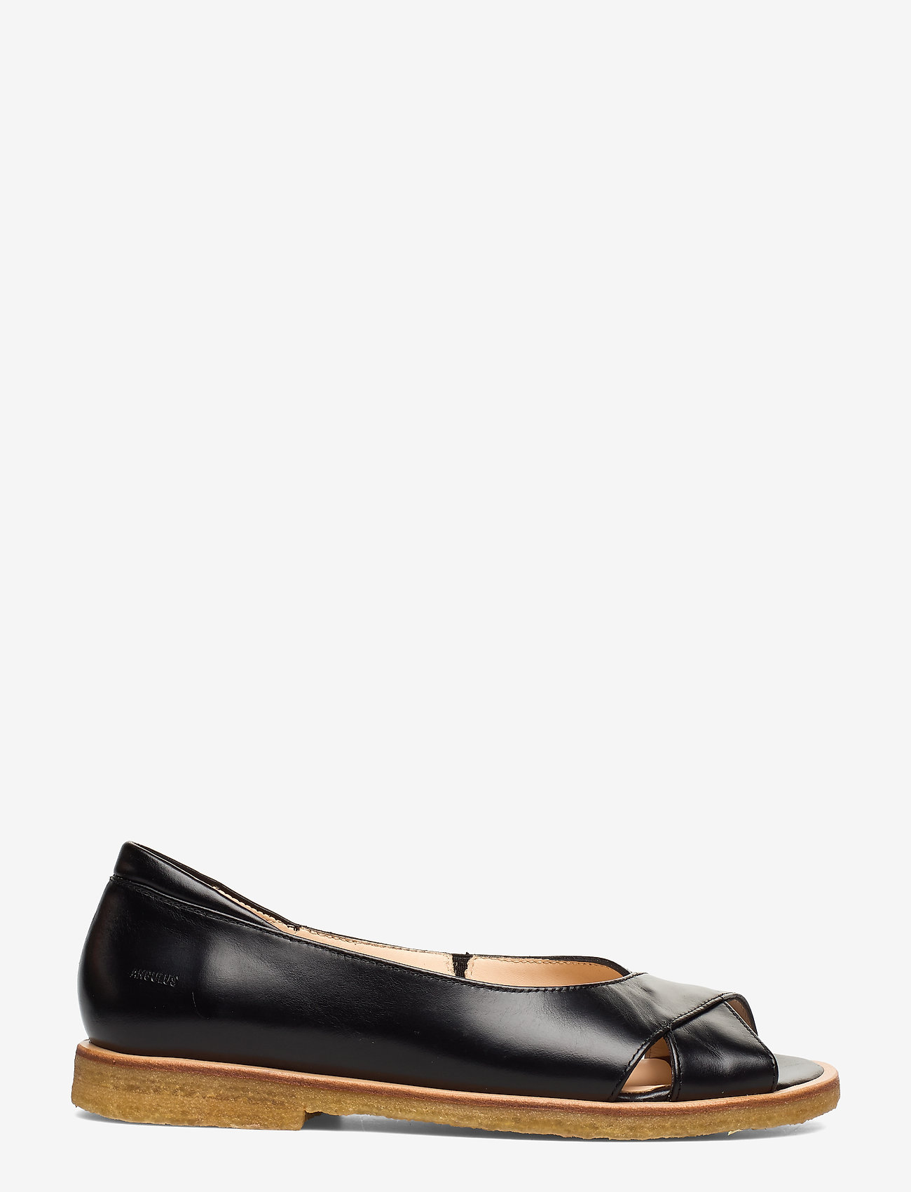 ANGULUS - Sandals - flat - open toe - clo - flache sandalen - 1835/001 black/black - 1