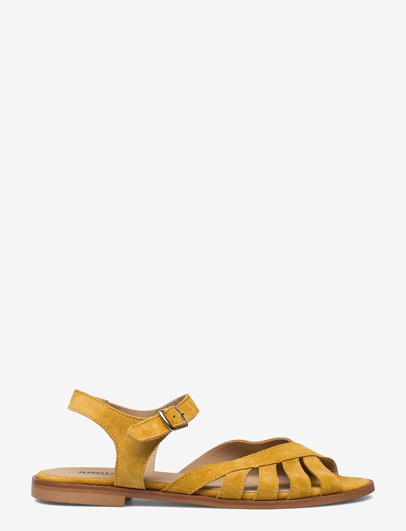 ANGULUS - Sandals - flat - open toe - op - flache sandalen - 2201 yellow - 1