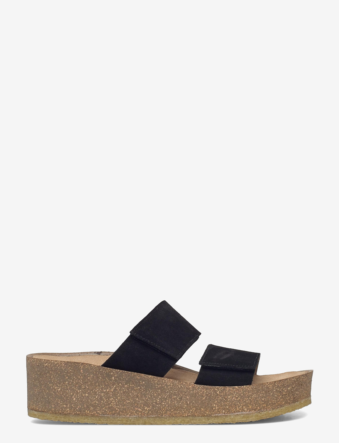 ANGULUS - Sandals - flat - open toe - op - sandalen mit absatz - 1163 black - 1