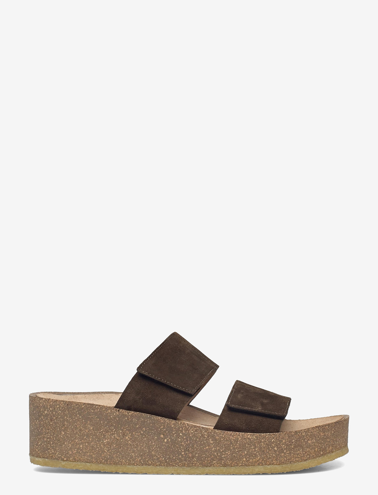 ANGULUS - Sandals - flat - open toe - op - sandalen mit absatz - 2214 dark olive - 1