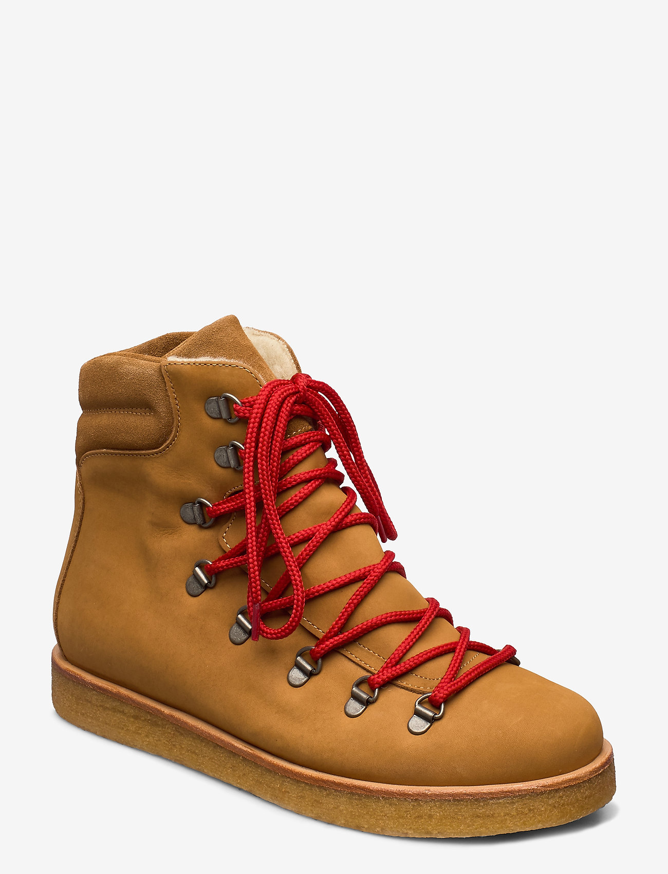 ANGULUS - Boots - flat - with laces - flache stiefeletten - 1262/1168 camel/tan - 0