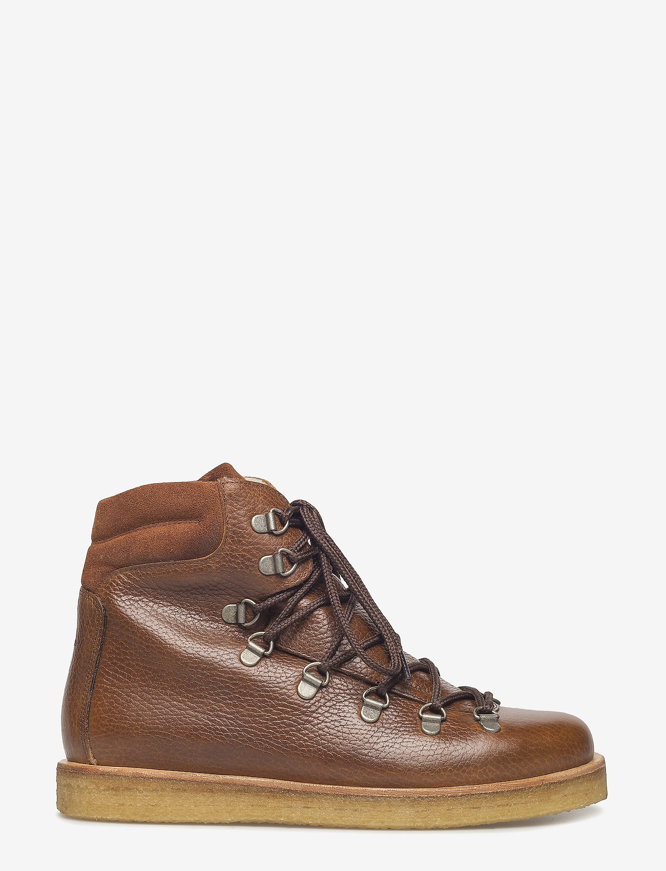 ANGULUS - Boots - flat - with laces - flade ankelstøvler - 2509/1166 medium brown/cognac - 1