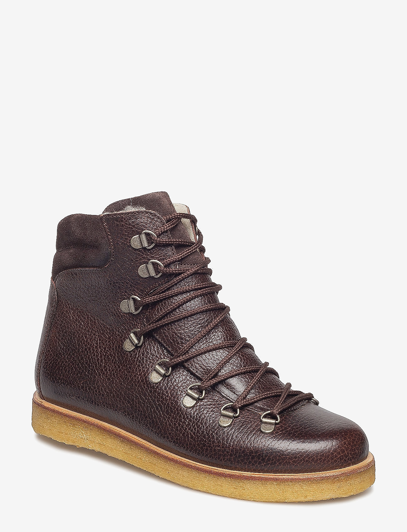 ANGULUS - Boots - flat - with laces - talon bas - 2505/2193 d.brown/d.brown - 0