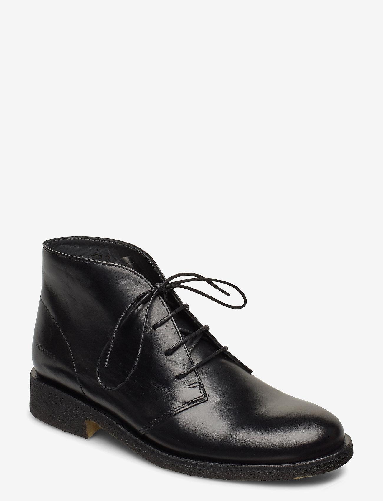 ANGULUS - Booties - flat - puszābaki bez papēža - 1835 black - 0