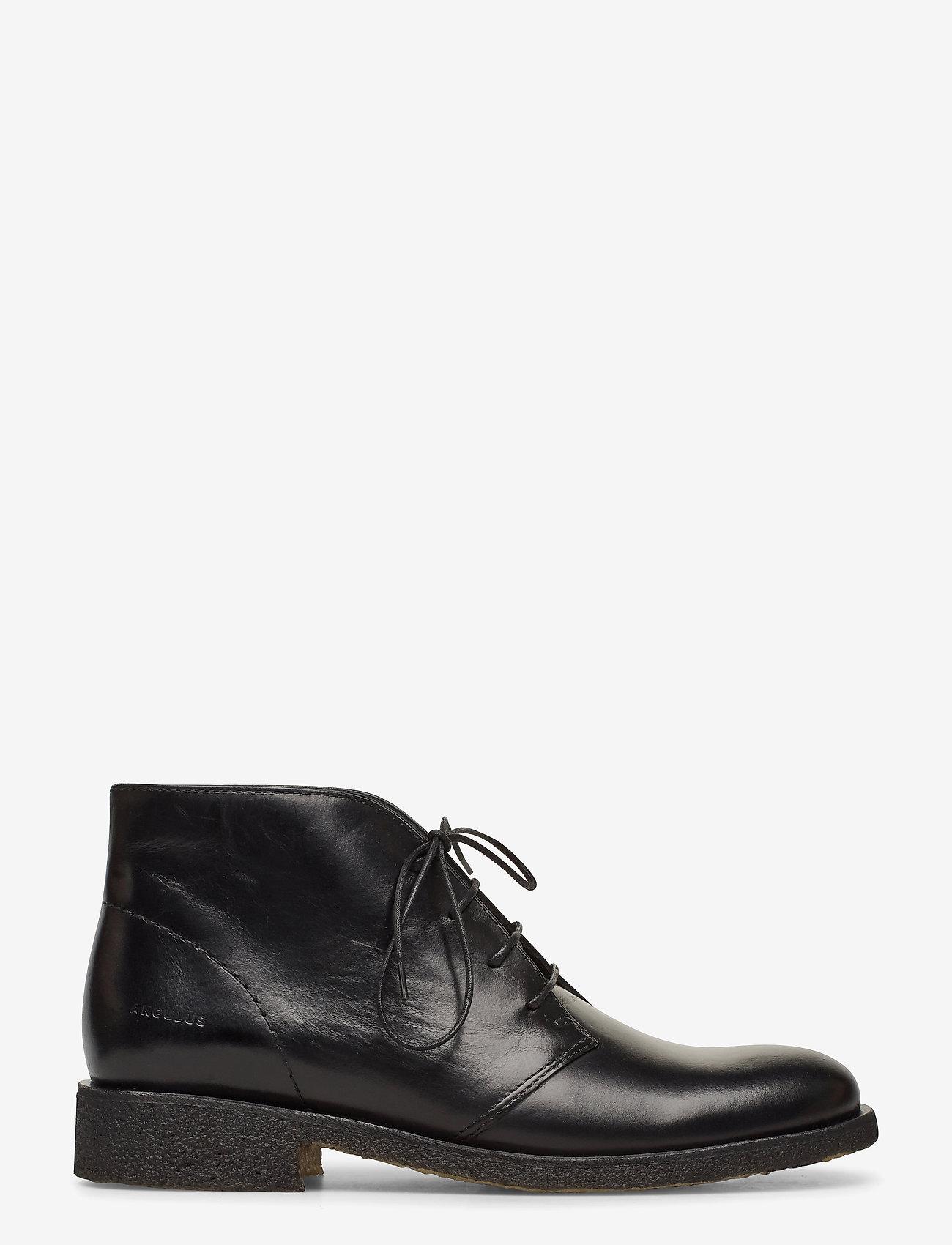 ANGULUS - Booties - flat - puszābaki bez papēža - 1835 black - 1