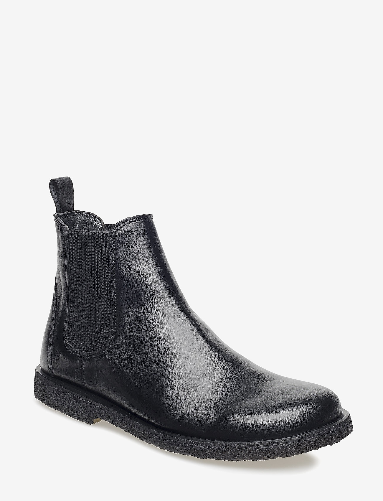 ANGULUS - Booties-flat - with elastic - chelsea boots - 1604/019 black/black - 0