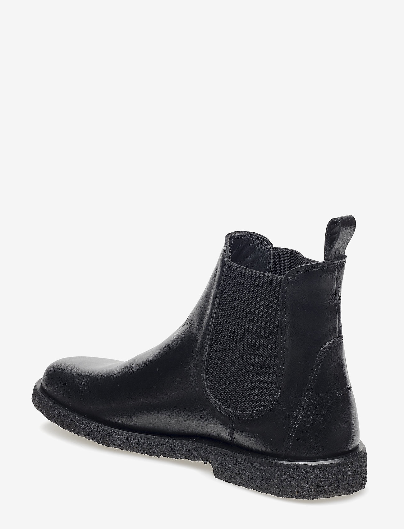 ANGULUS - Booties-flat - with elastic - chelsea boots - 1604/019 black/black - 1