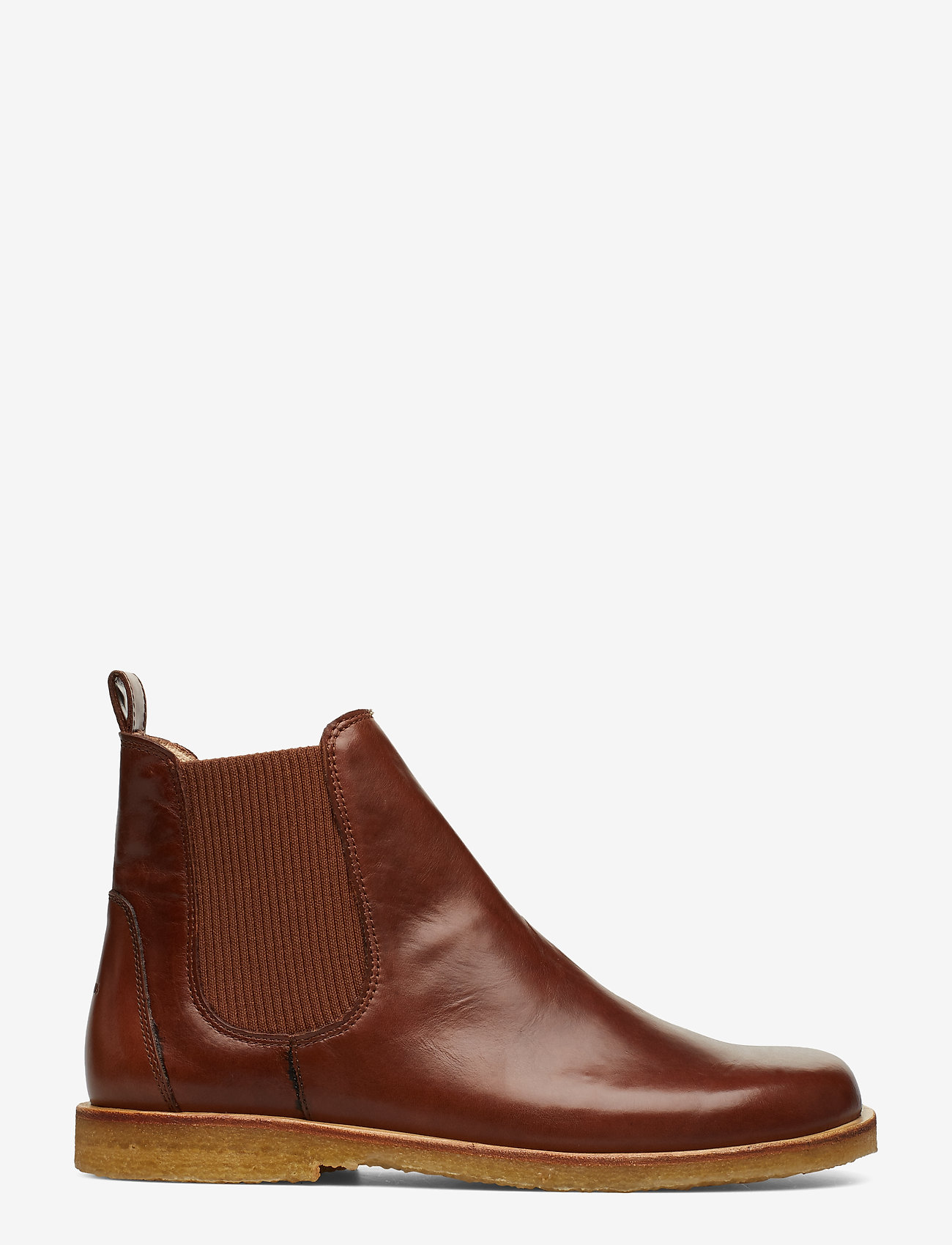 ANGULUS - Booties-flat - with elastic - chelsea støvler - 1837/040 brown/ brown - 1
