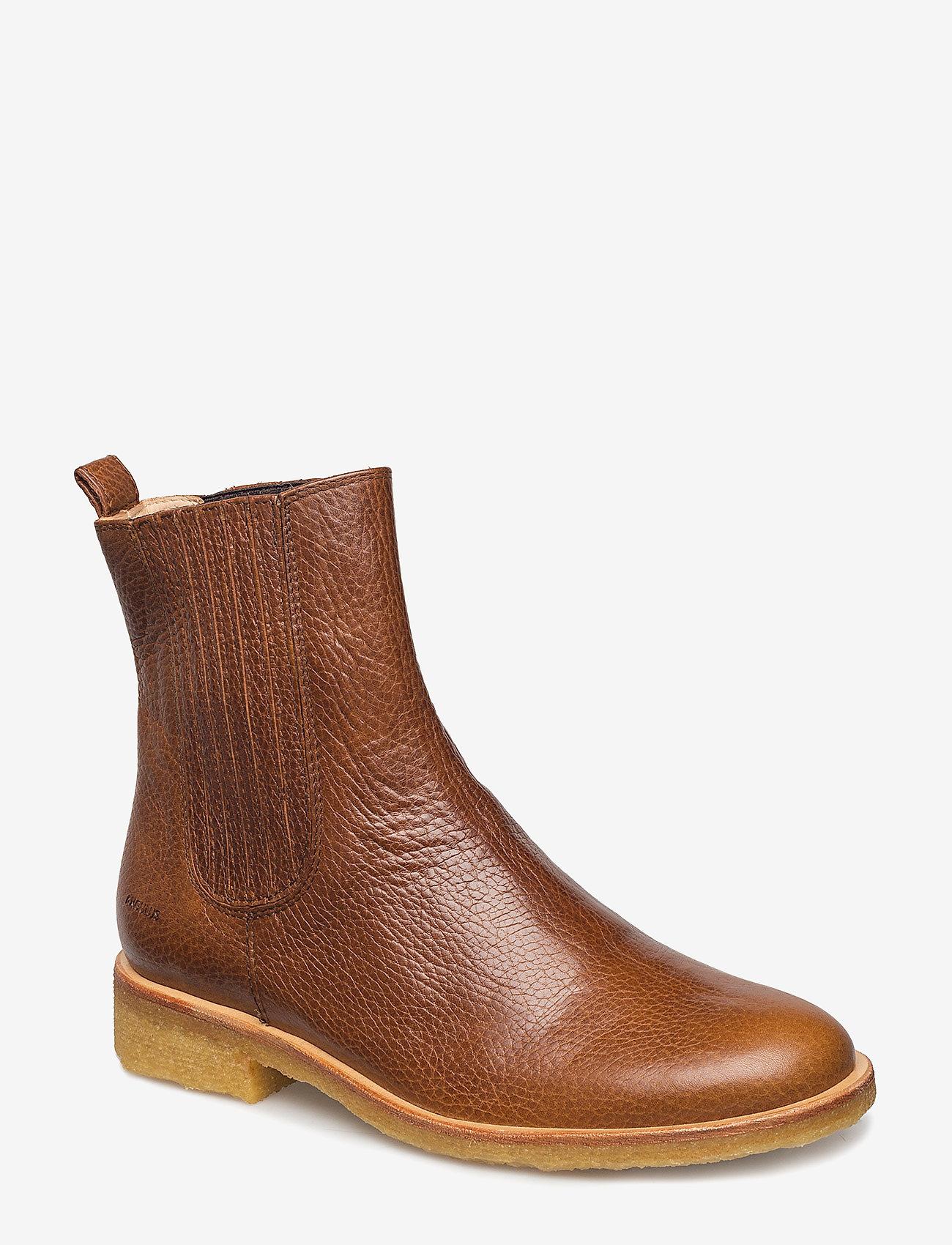 ANGULUS - Chelsea Boot - chelsea boots - 2509/002 medium brown/medium b - 0