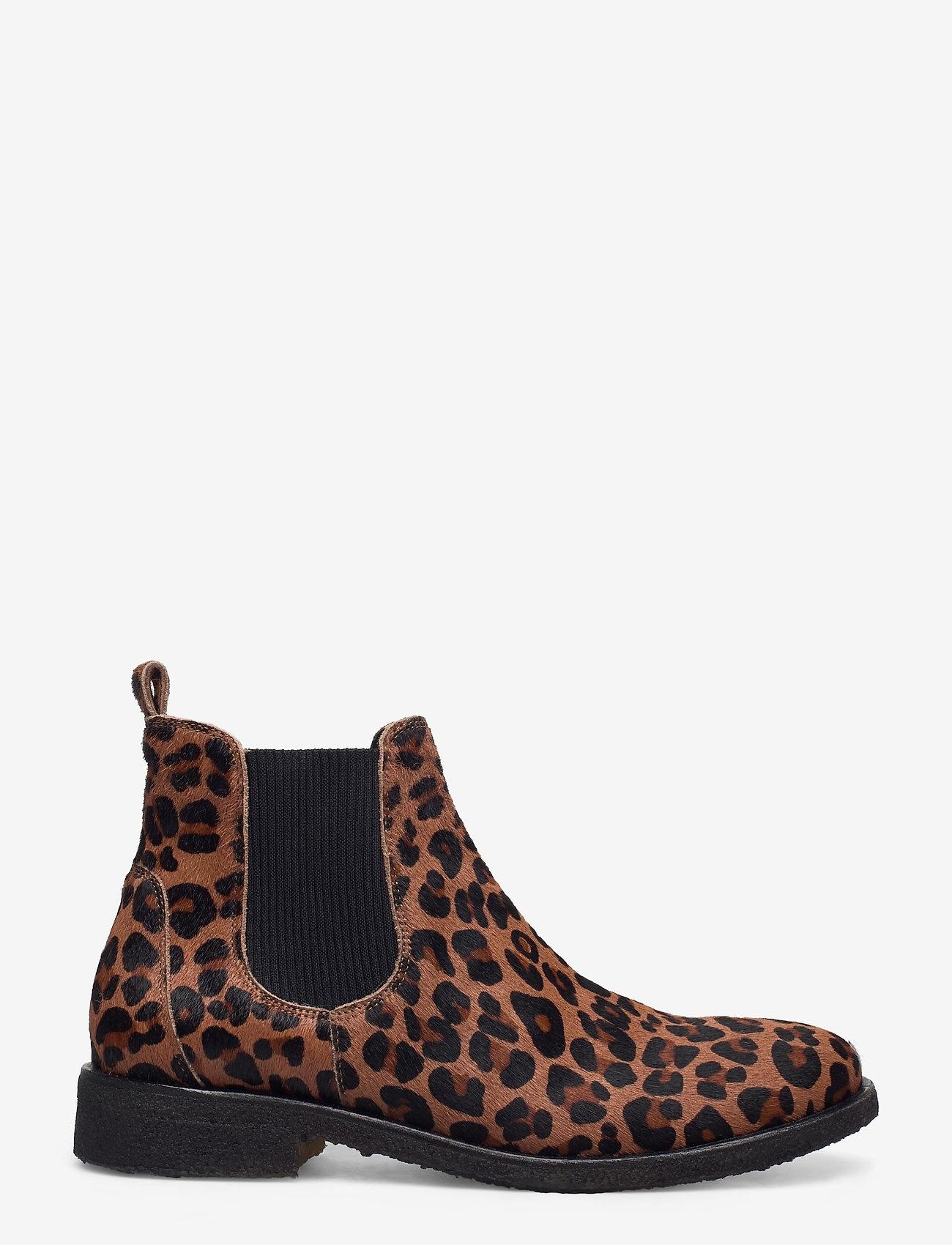 ANGULUS - Chelsea boot - chelsea boots - 1110/019 leopard/elastic - 1