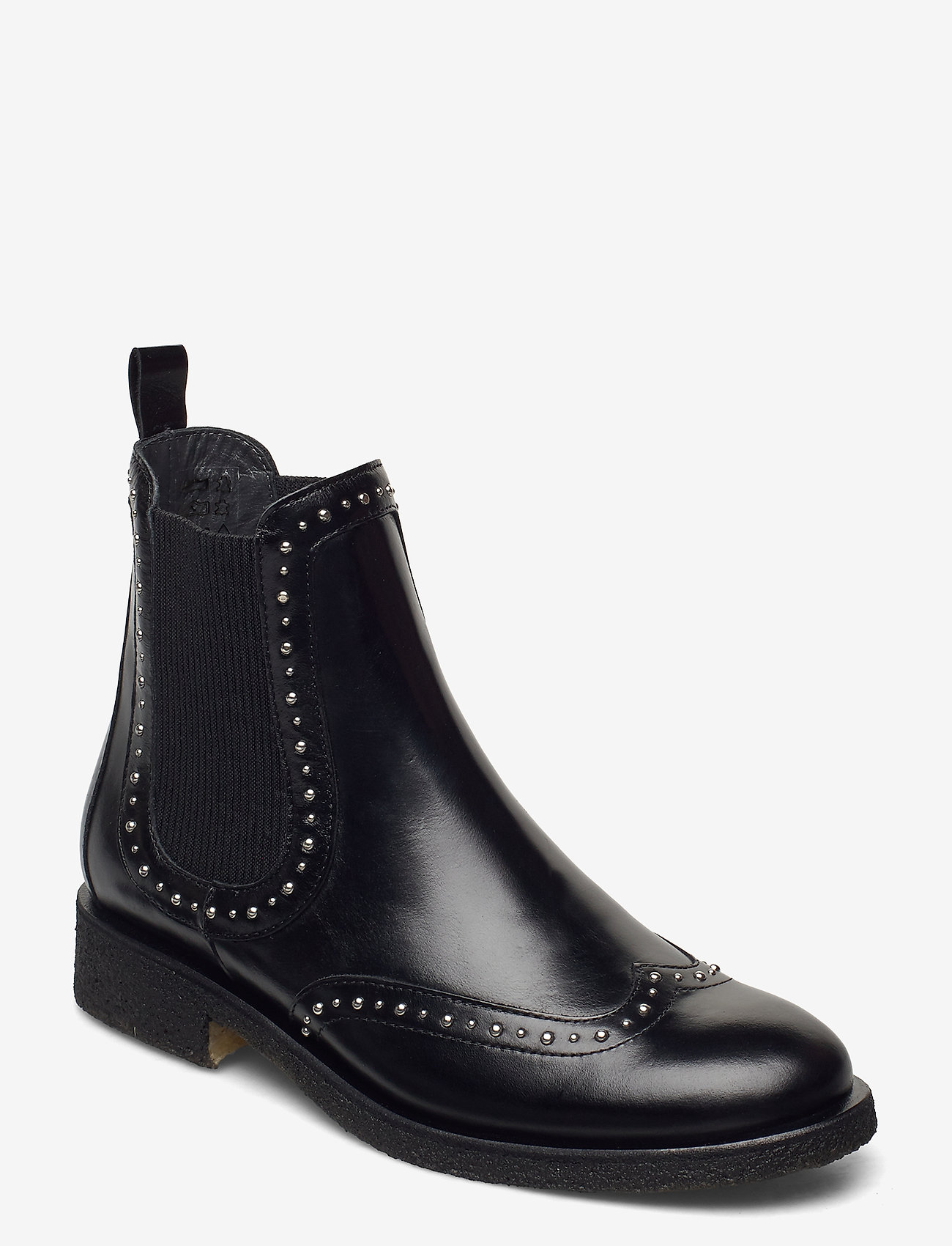 ANGULUS - Booties - flat - with elastic - chelsea boots - 1835/019 black /black - 0