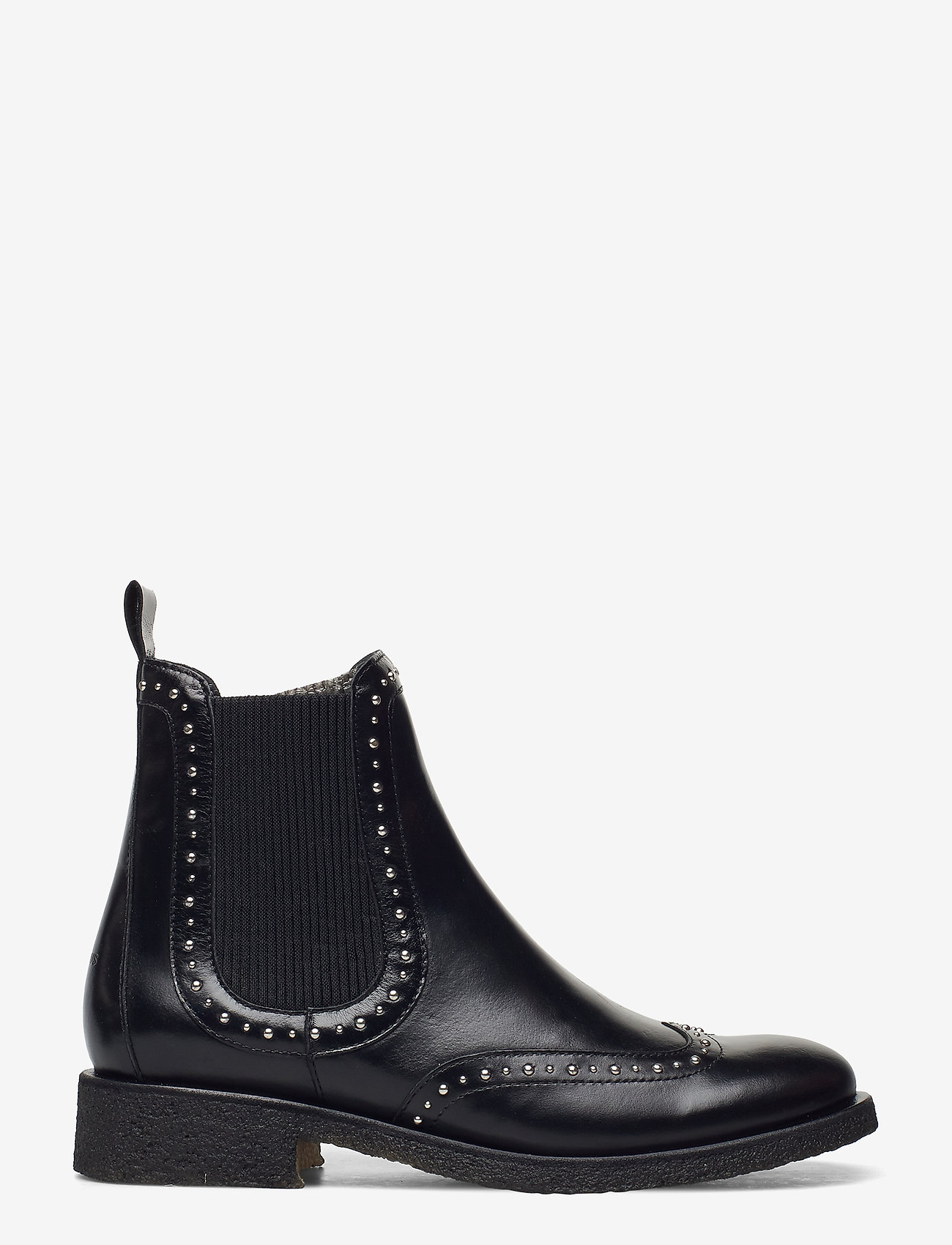 ANGULUS - Booties - flat - with elastic - chelsea boots - 1835/019 black /black - 1