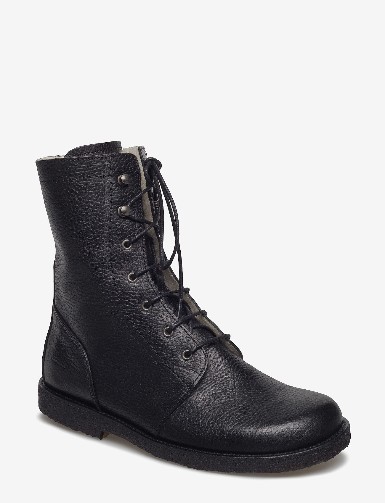 ANGULUS - Boots - flat - with laces - talon bas - 2504 black - 0