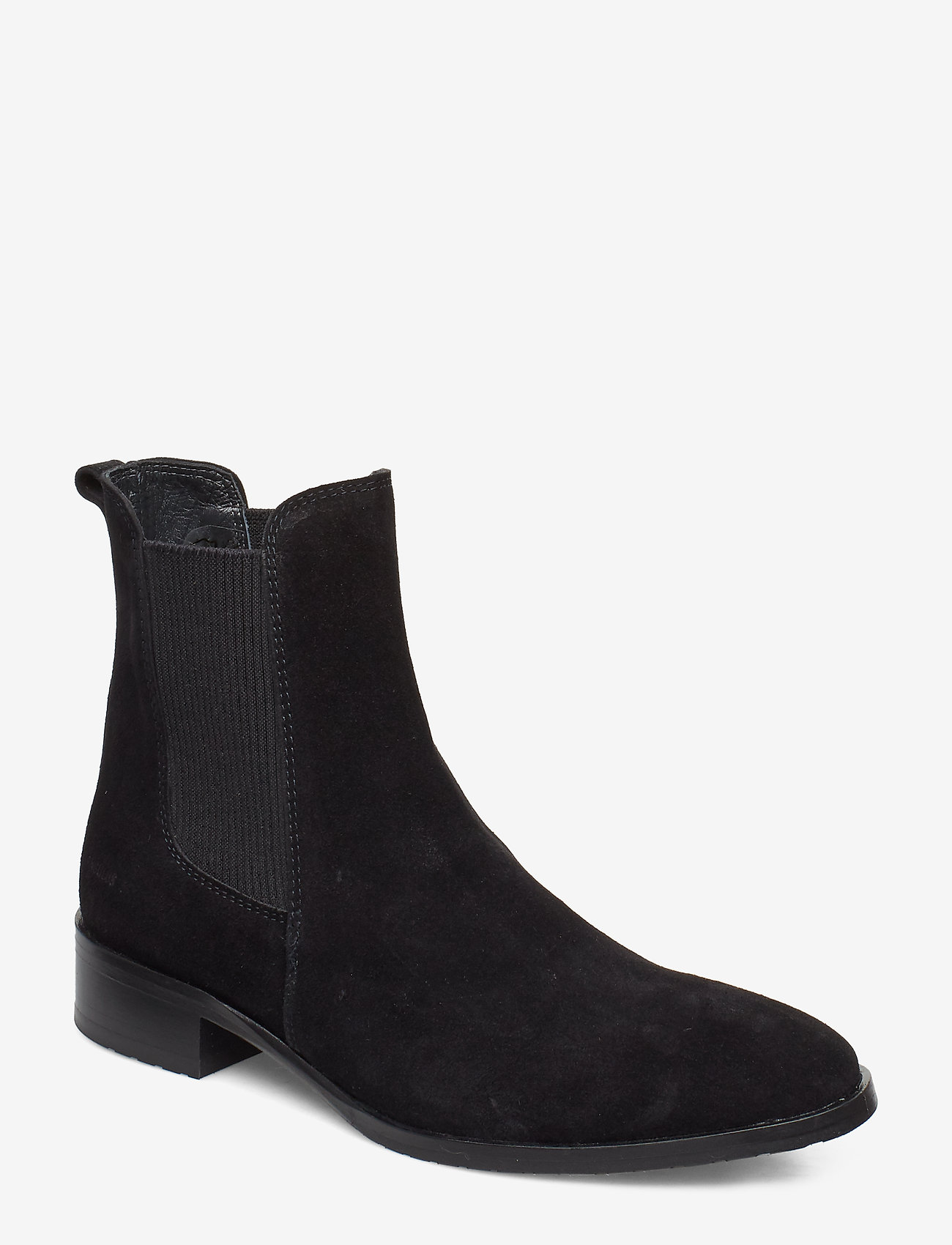ANGULUS - Booties - flat - with elastic - chelsea boots - 1163/019 black/black - 0