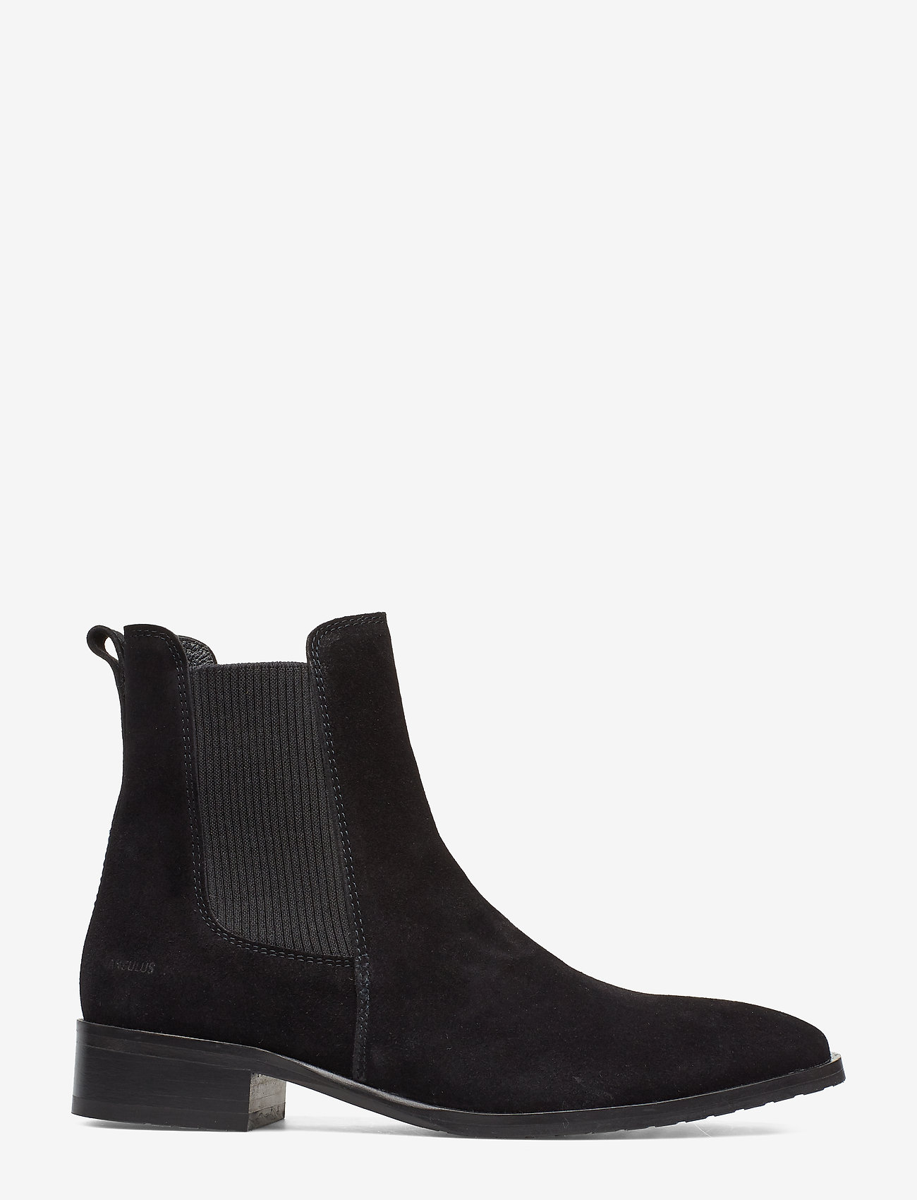 Booties - Flat - With Elastic (1163/019 Black/black) - ANGULUS gqzqNZ