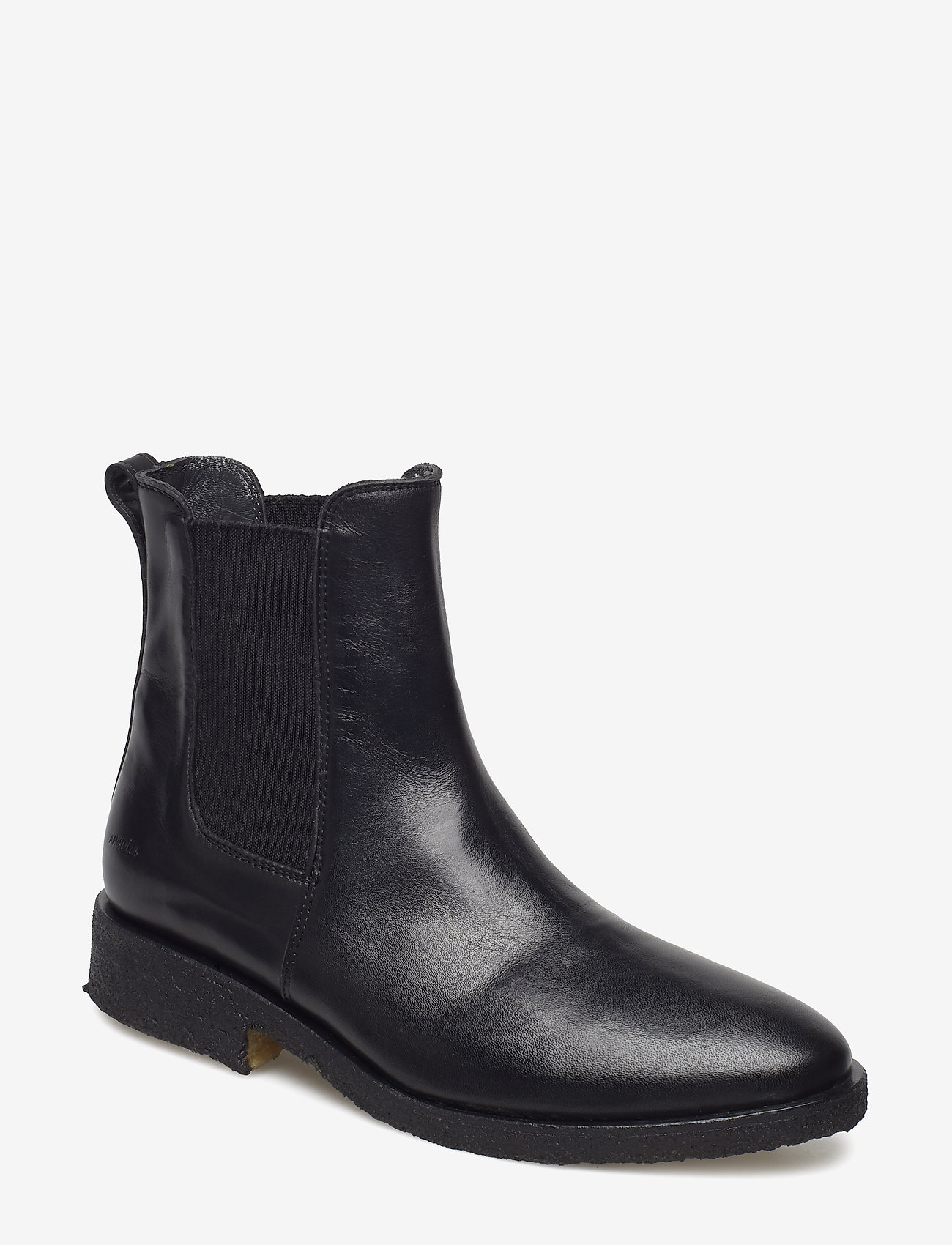 ANGULUS - Booties - flat - with elastic - stiefel - 1604/019 black/black - 0