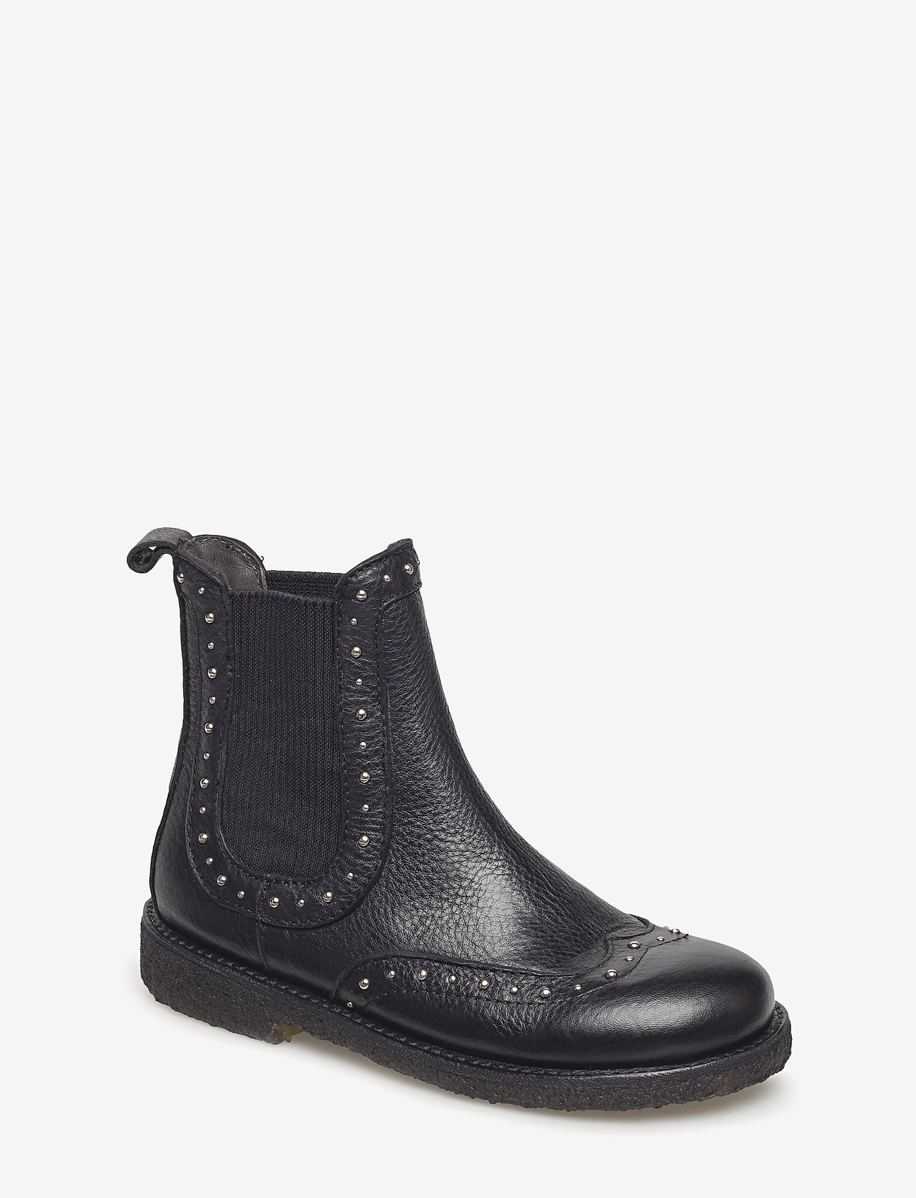 ANGULUS - Booties - flat - with elastic - laarzen - 1933/019 black/black - 0