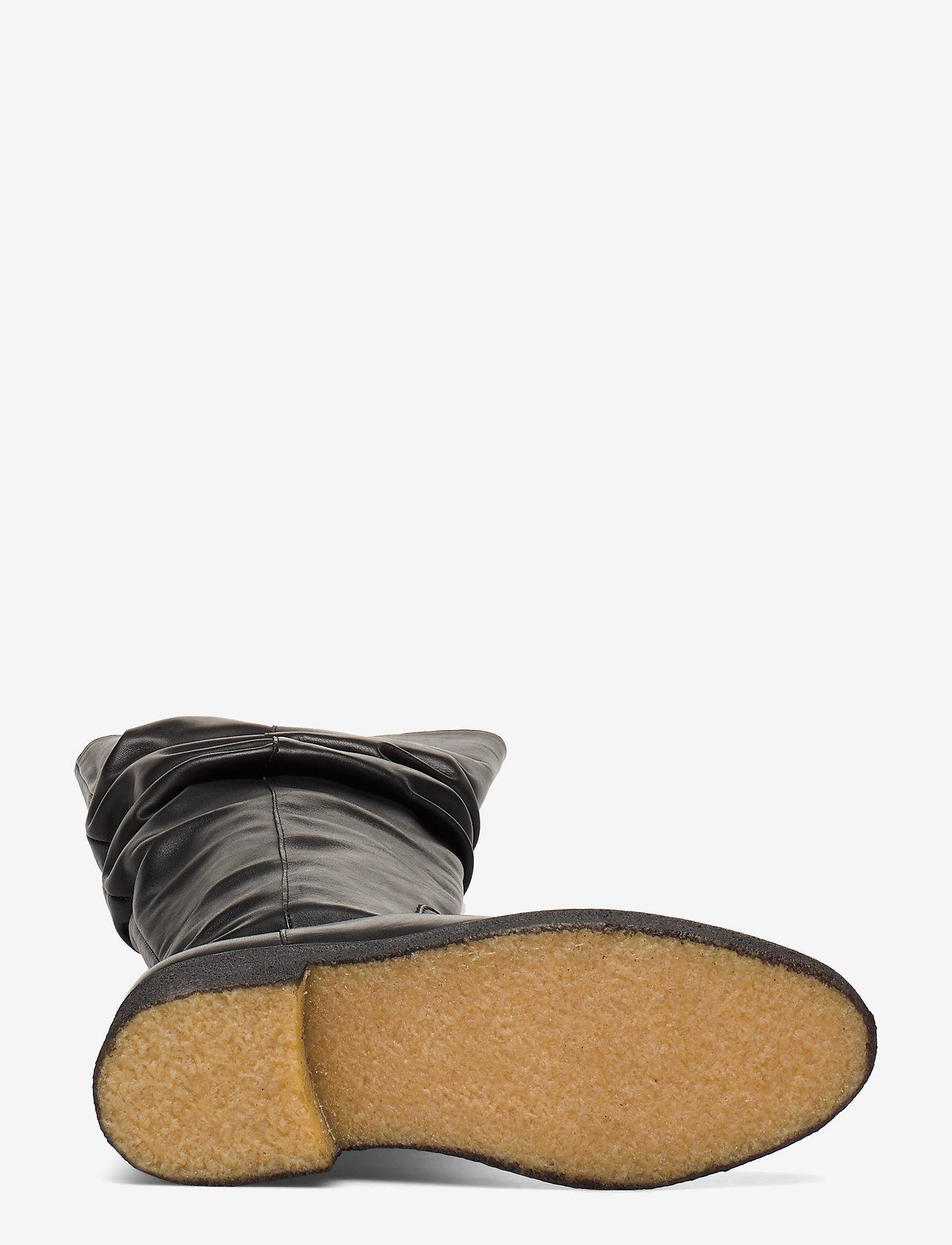 Angulus Booties - Flat With Zipper Stövlar 1604 Black