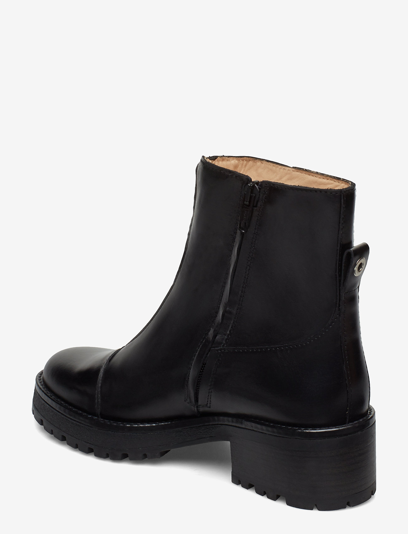 Booties - Flat - With Zipper (1835 Black) (250 €) - ANGULUS hx5wT