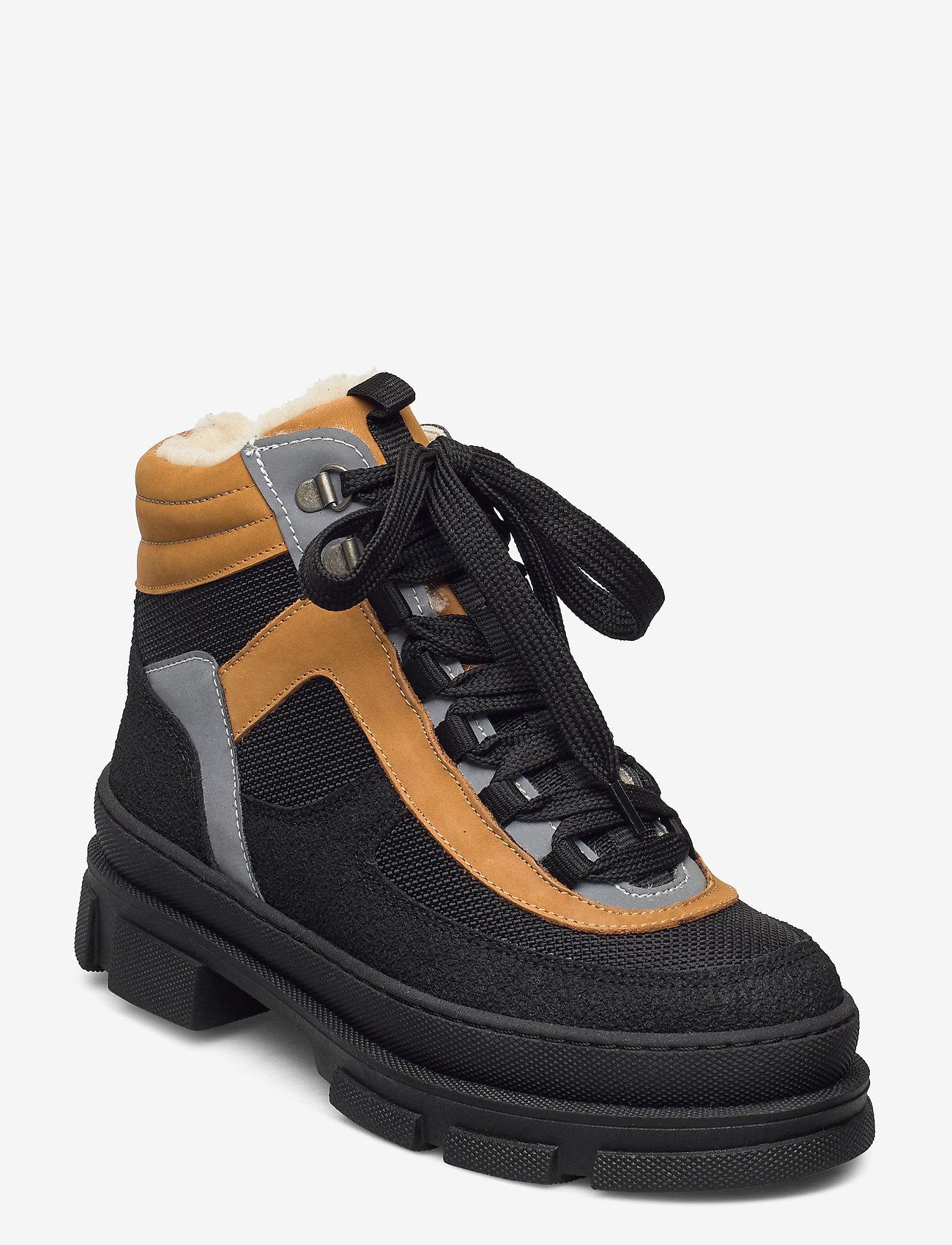 ANGULUS - Boots - flat - flade ankelstøvler - 1321/1631/1262/2012 sort/sort/ - 0