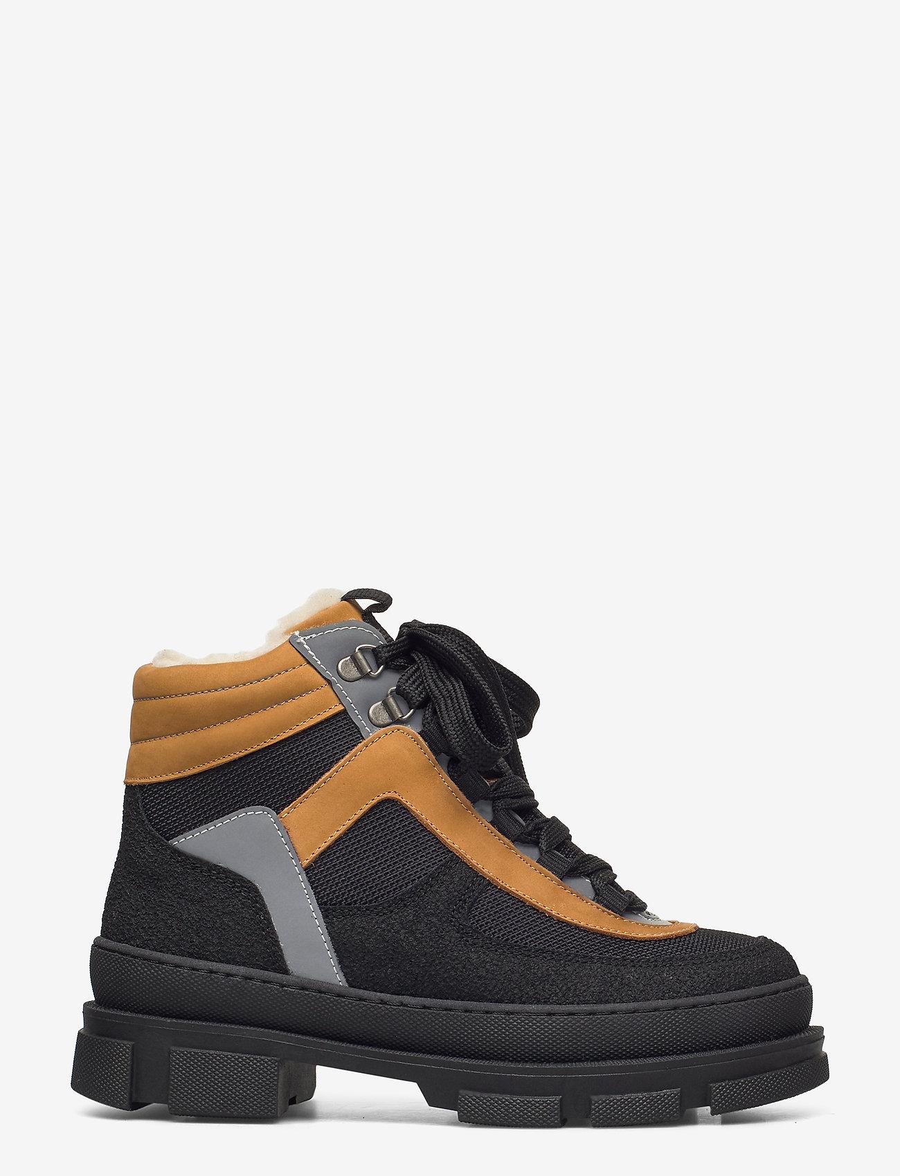 ANGULUS - Boots - flat - flade ankelstøvler - 1321/1631/1262/2012 sort/sort/ - 1