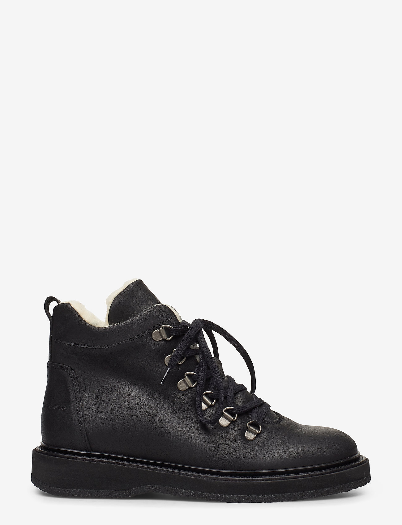 ANGULUS - Boots - flat - with laces - flat ankle boots - 2100 black - 1