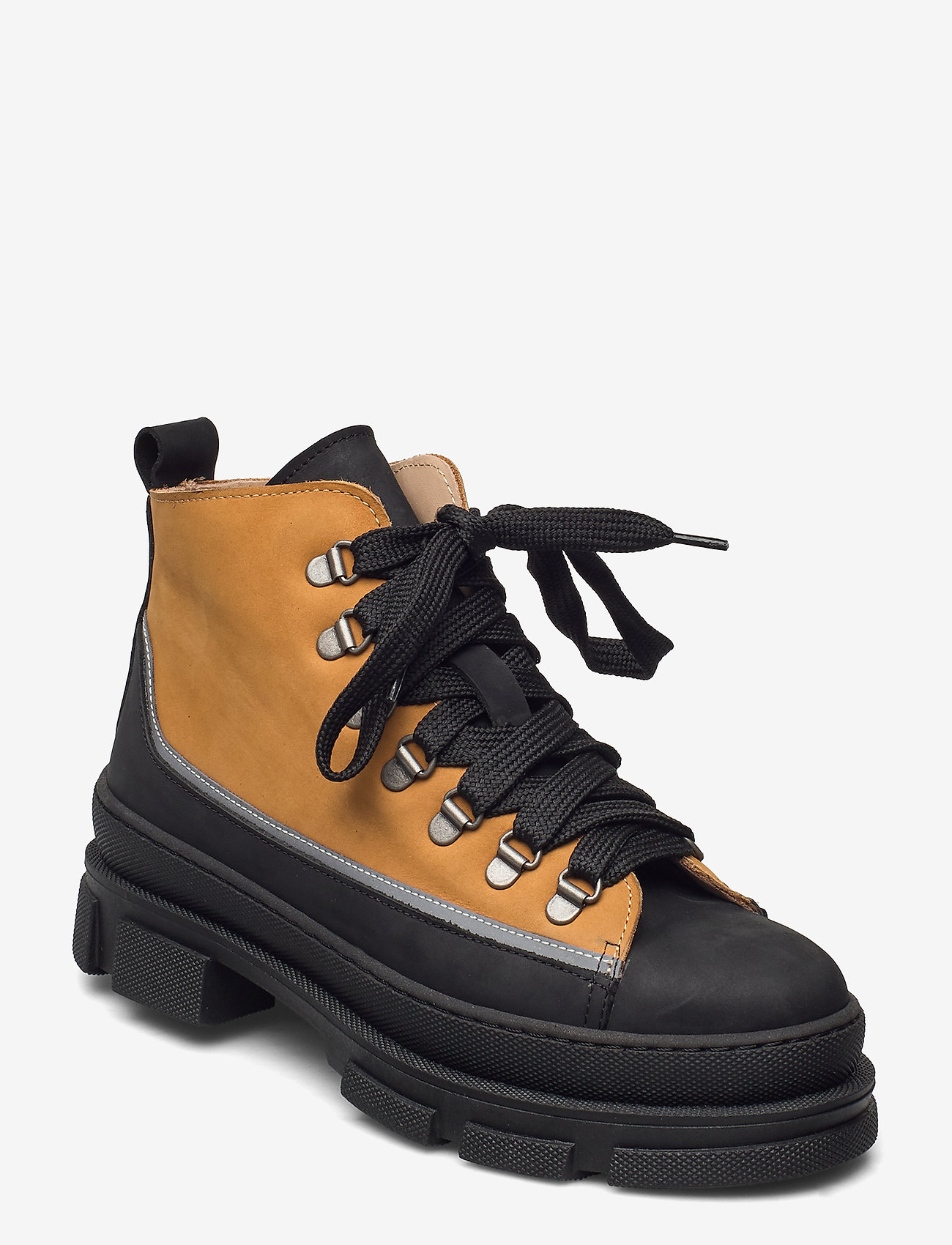 ANGULUS - Boots - flat - flache stiefeletten - 1205/2012/1262 black/reflex/ca - 0