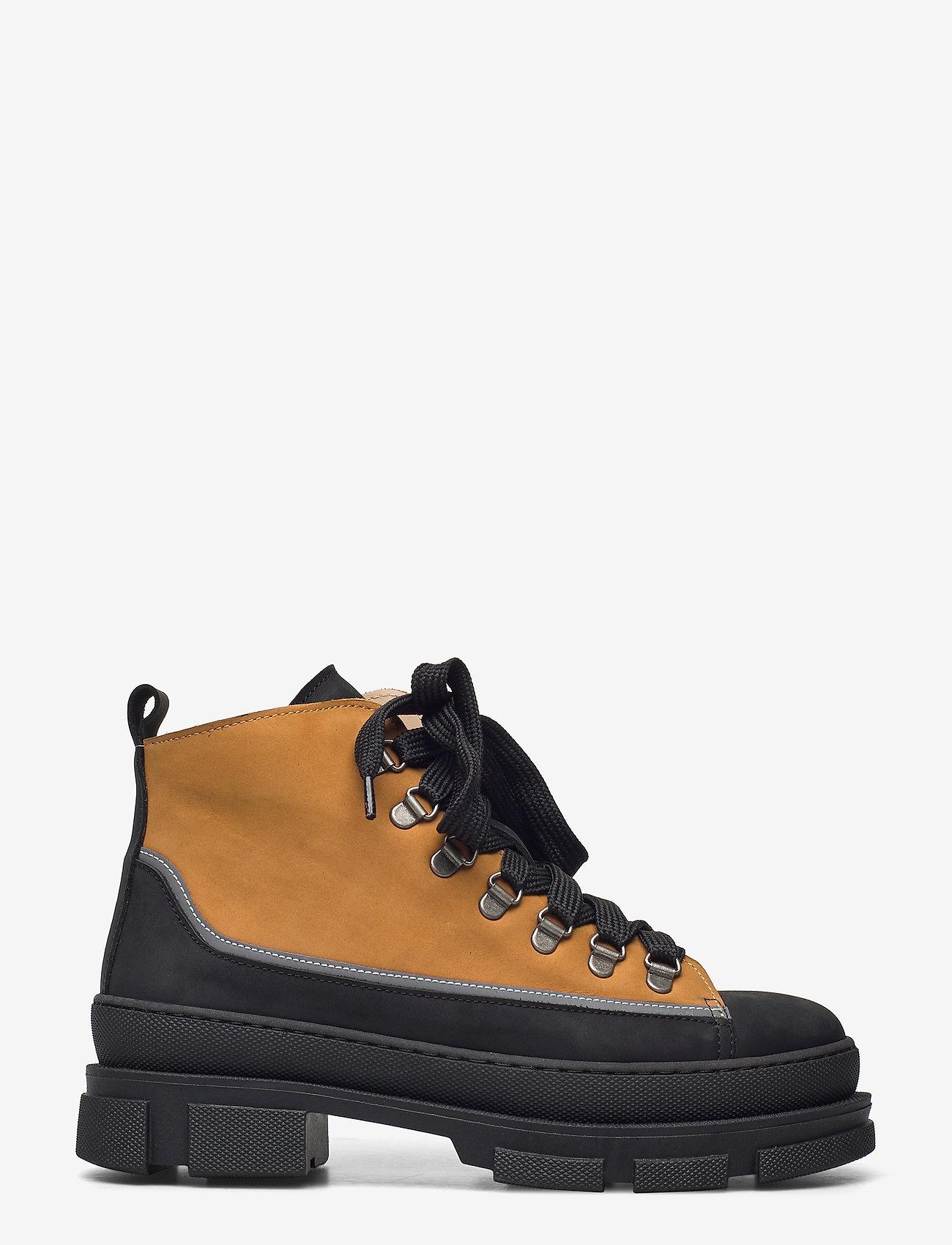 ANGULUS - Boots - flat - flache stiefeletten - 1205/2012/1262 black/reflex/ca - 1