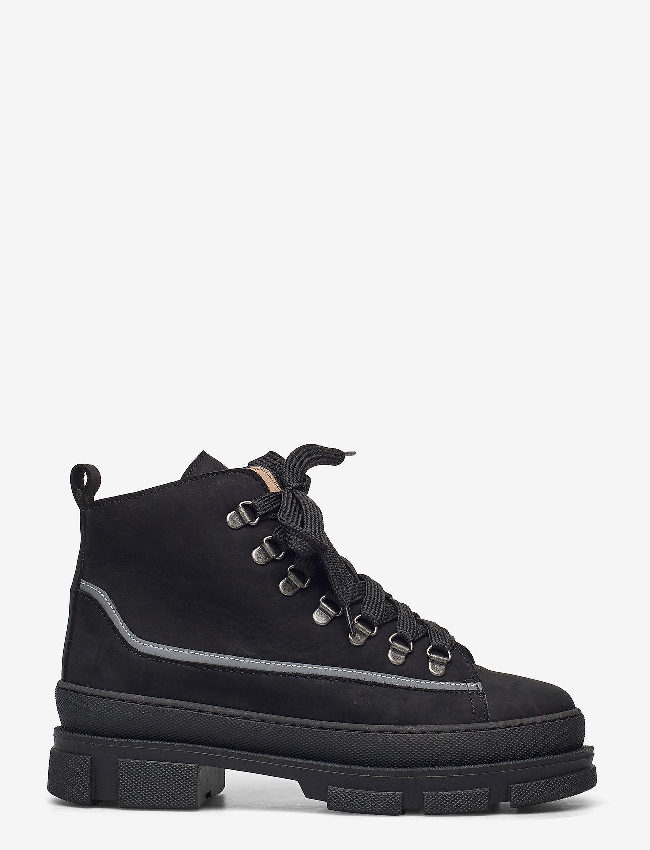 ANGULUS - Boots - flat - flache stiefeletten - 1205/2012/1205 black/reflex/bl - 1