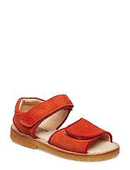 Sandals - flat - 2200/2191 ORANGE/RED