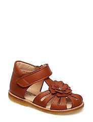 Sandals - flat - 1431 COGNAC