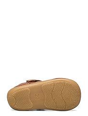 ANGULUS - Sandals - flat - closed toe -  - lauflernschuhe - 1431 cognac - 4