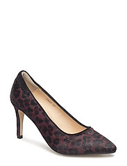 ***Pump*** - 1115/1163 BORDEAUX LEOPARD/BLA