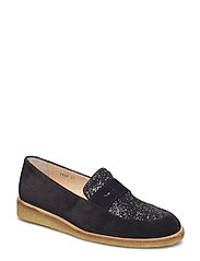 Loafer - flat - 1163/2486 BLACK/BLACK GLITTER