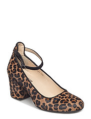 ***Pump*** - 1110/1163 LEOPARD/BLACK