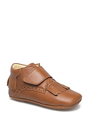 Indoor with velcro - 1431 COGNAC