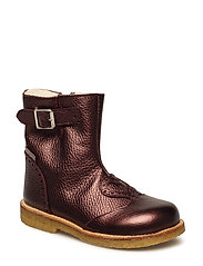 Boots - flat - 1536/2544 BORDEAUX SHINE/BORDE