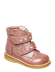 Boots - flat - with velcro - 2636/2012 ROSE SHINE/REFLEX