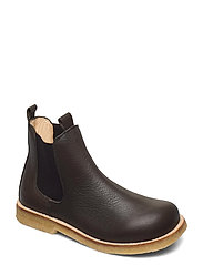 Chelsea boot - 1263/002 D.OLIVE/BROWN