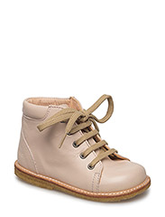 Boots - flat - with laces - 1432 POWDER