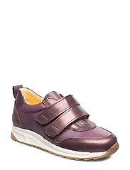 Shoes - flat - with velcro - 1309/1568 LAVENDER SHINE/LAVEN
