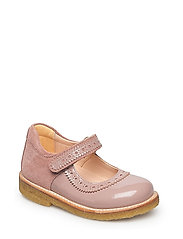 Shoes - flat - 1387/2194 OLD ROSE/POWDER
