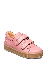 Shoes - flat - with velcro - 1542 ROSE