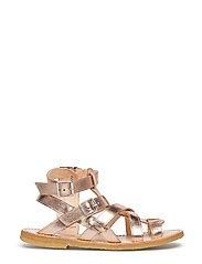 Sandal w. zipper