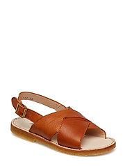 Sandals - flat - 2621 COGNAC