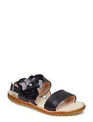 Sandals - flat - 1604/2320 BLACK