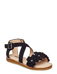 Sandals - flat - 1163 BLACK