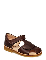Sandals - flat - 1562 ANGULUS BROWN