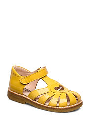 Sandal with heart detail - 2339 YELLOW