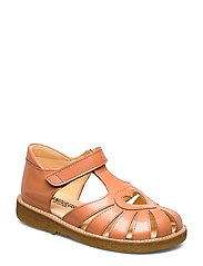 Sandal with heart detail - 2355 PEACH